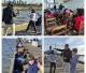 Se está llevando a cabo exitosamente la segunda edición del año de la Escuela de Pesca para niños